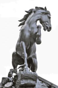 Horse at the harrow (1878), Musée d'Orsay , Paris .